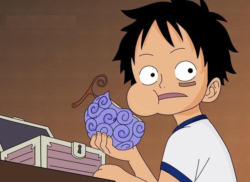 Luffy Manusia Karet