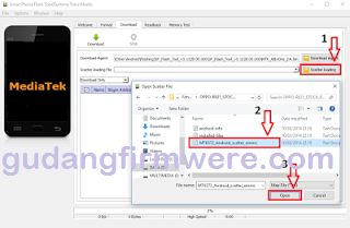 Cara Flashing Advan A8 Via bootloop Flash Tool 100% Sukses