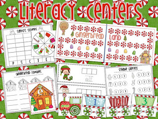 Christmas Centers Pack + FREEBIE!