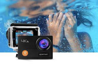 QUASI REGALATA l'Action Cam 4K con monitor e accessori, PER POCHE ORE!