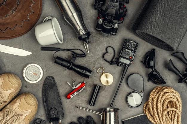peralatan survival dasar