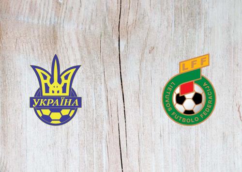 Ukraine vs Lithuania -Highlights 11 October 2019