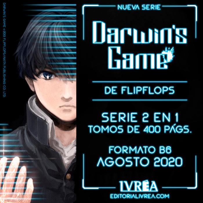 Darwin's Game manga (FLIPFLOPS) - Ivrea