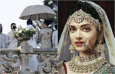 सोशल मीडिया में छाई रणवीर-दीपिका के शादी की तस्वीरें, फोटो हुआ वायरल