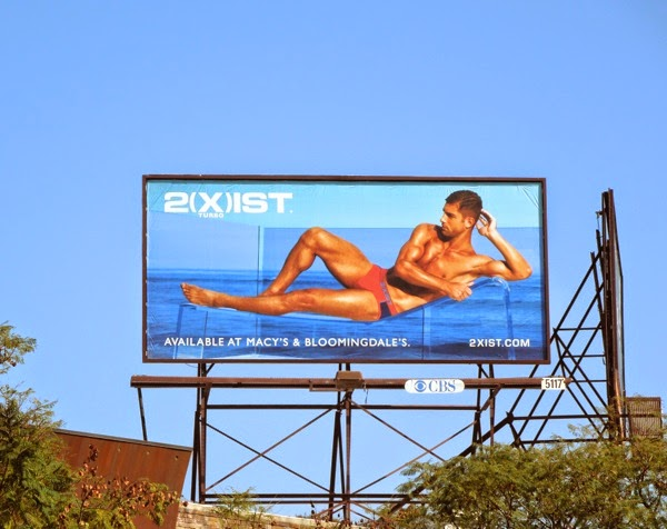 2Xist Turbo underwear Summer 2014 billboard