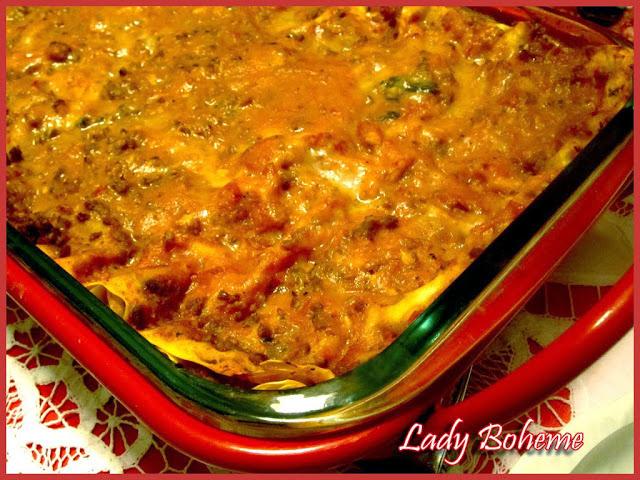 hiperica di lady boheme blog di cucina, ricette facili e veloci. Ricetta lasagne al ragù di carne