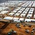 China construye un campo de aislamiento de covid-19 para 4.000 personas