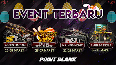 Event Terbaru Point Blank PB Garena Indonesia