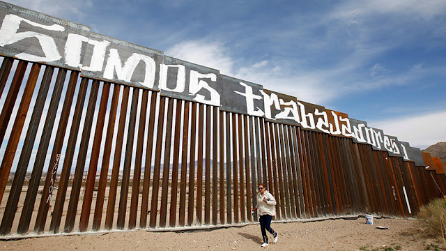 """Trump: """"México puede pagar el muro indirectamente a través del TLCAN"""""""