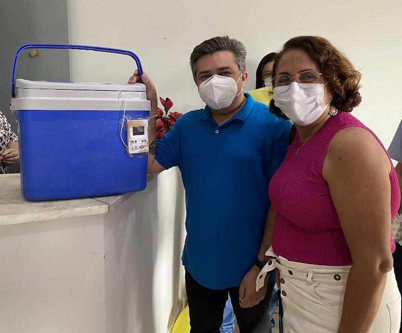 Município de Ilha Grande- PI recebe as primeiras doses da Coronavac