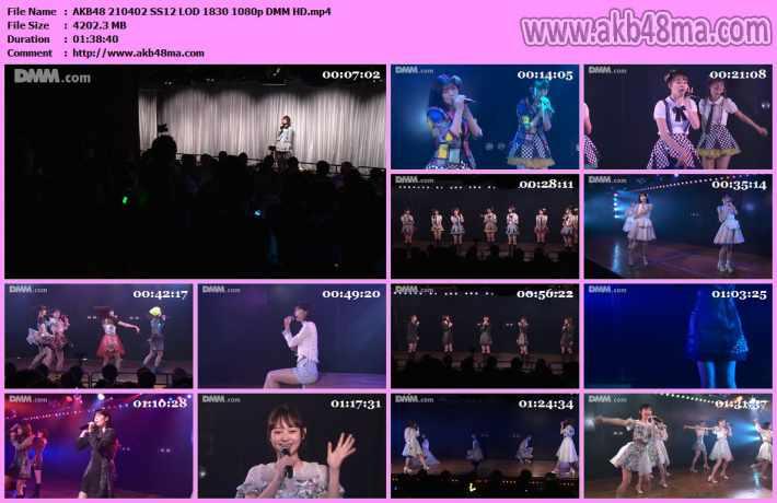 AKB48 210402 SS12 LOD 1830 1080p