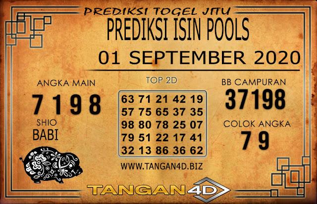 PREDIKSI TOGEL ISIN TANGAN4D 01 SEPTEMBER 2020