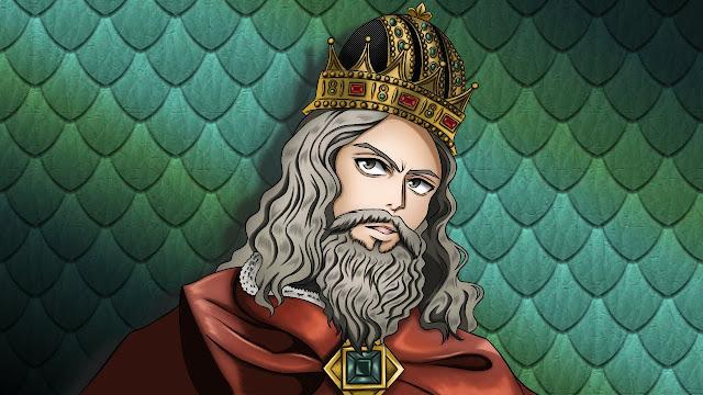 ソロモン王のイラスト