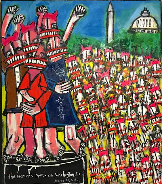 WOMEN'S MARCH ON WASHINGTON 2017 Matt Sesow