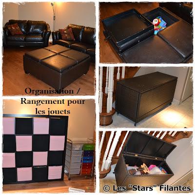 les stars filantes organisation et rangement dans la maison. Black Bedroom Furniture Sets. Home Design Ideas