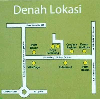 gambar denah lokasi rumah minimalis 2