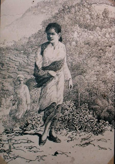 Perempuan Minang  dalam lukisan Wakidi - teraSeni