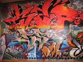 Cahaya Hidup: Cara membuat Graffiti