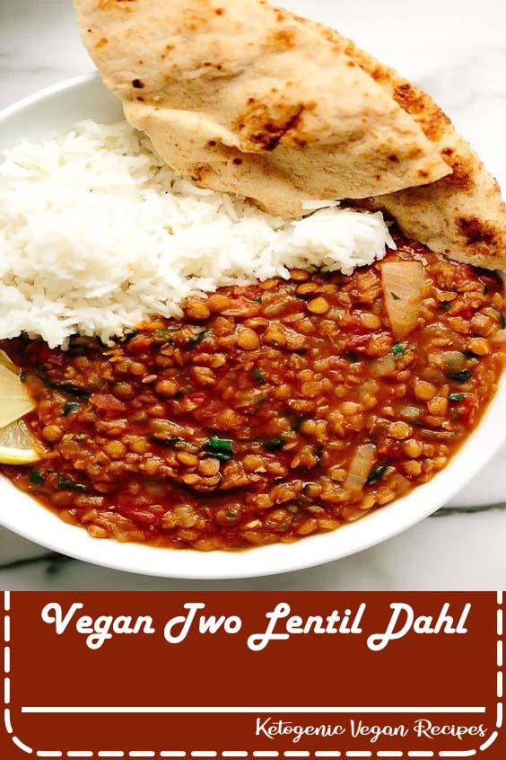 Vegan Two Lentil Dahl
