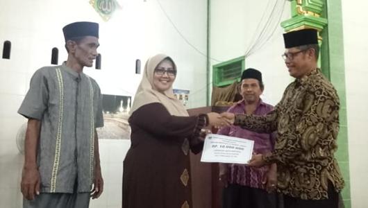 Safari Ramadan, Ketua DPRD Padang Kunjungi Masjid Nurul Jannah dan Mushalla Nurul Amal