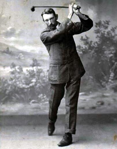 Golfer Joe Lloyd was an early US Open winner