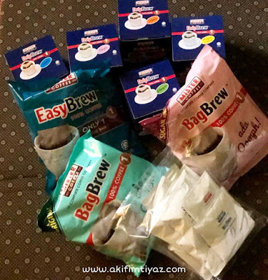 Review blogger Mister Coffee