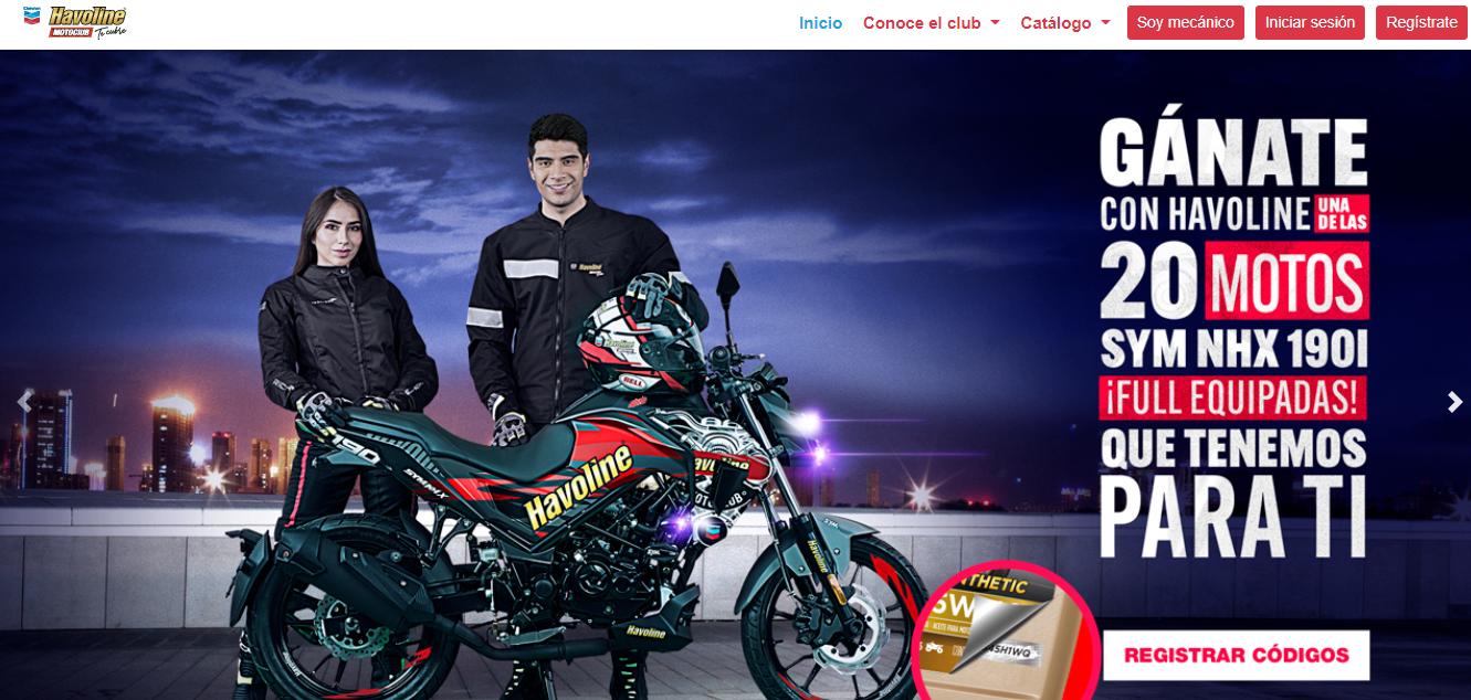 Promo Havoline Moto Club 2021