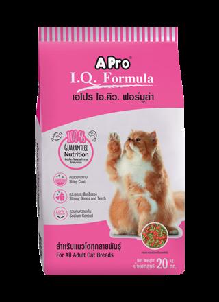 Cat Food A Pro IQ Formula