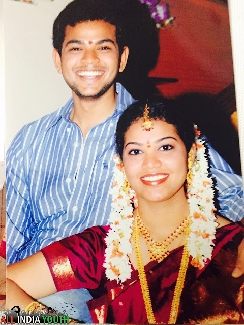 Ram Mohan Naidu with her sister