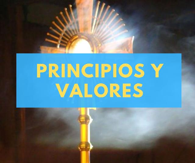 Principios y Valores del Apostolado