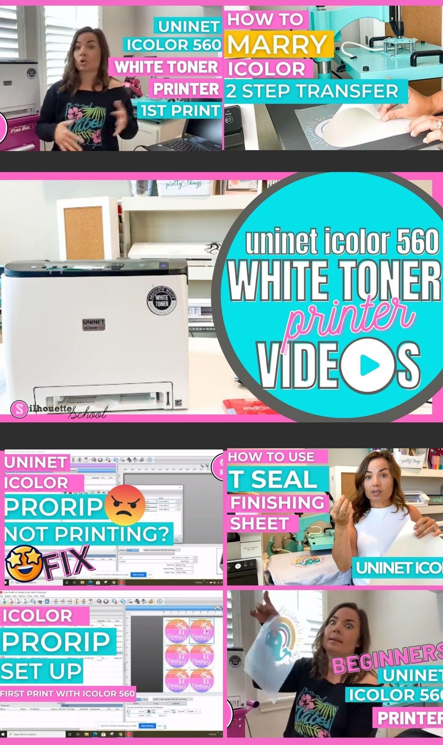 Uninet iColor 560 beginner videos