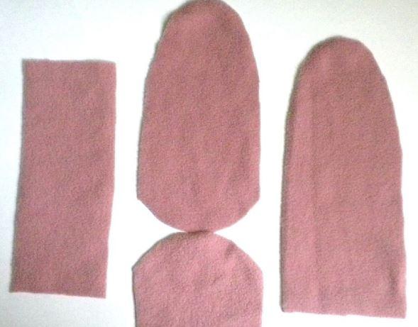 464af89bc Vídeo tutorial para aprender cómo hacer calcetines de tela polar ...