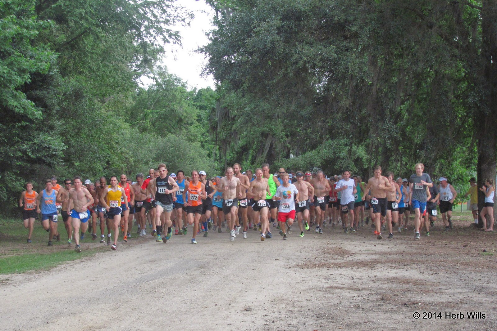 Gulf Winds Track Club's 2014 Potluck Cross-Country Race