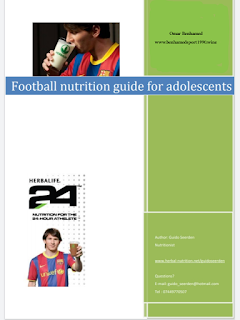 Football nutrition guide for adolescents PDF