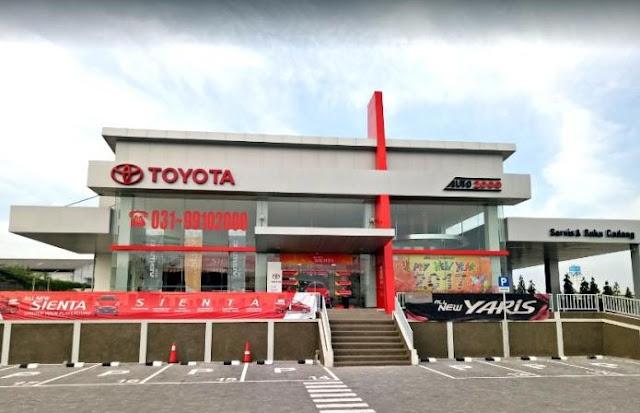 Daftar Alamat Dealer Resmi Toyota Auto2000 di Gresik