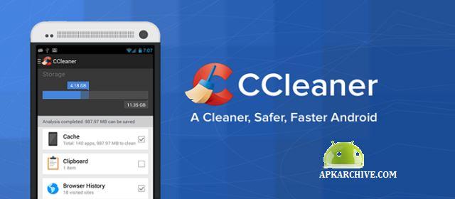 CCleaner Pro Android Sistem Bakım Uygulaması indir