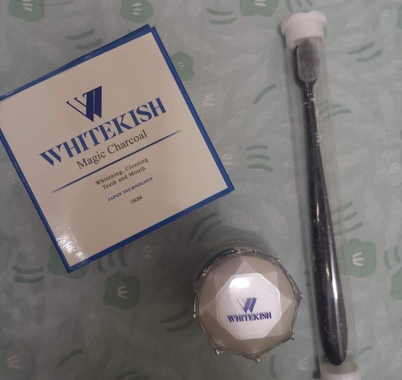 Gigi Bersih dan Putih dengan Whitekish Magic Charcoal