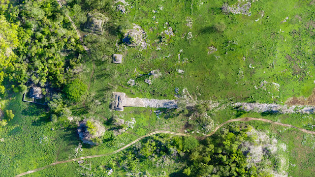 Modern technology reveals old secrets about the great, white Maya road