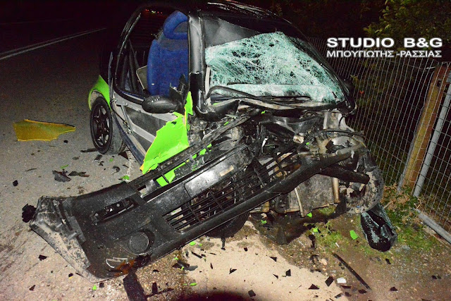 Σοβαρό τροχαίο ατύχημα στο Άργος με τραυματίες