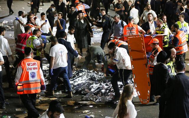 Festival Keagamaan Israel Berlangsung Mencekam, Puluhan Orang Tewas Terinjak-Injak