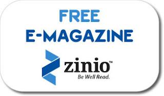 Zinio, E-Magazine Gratis Download