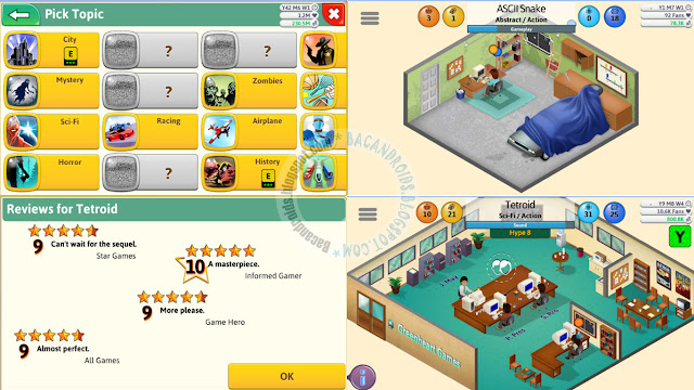 game dev tycoon apk release mobile Android free