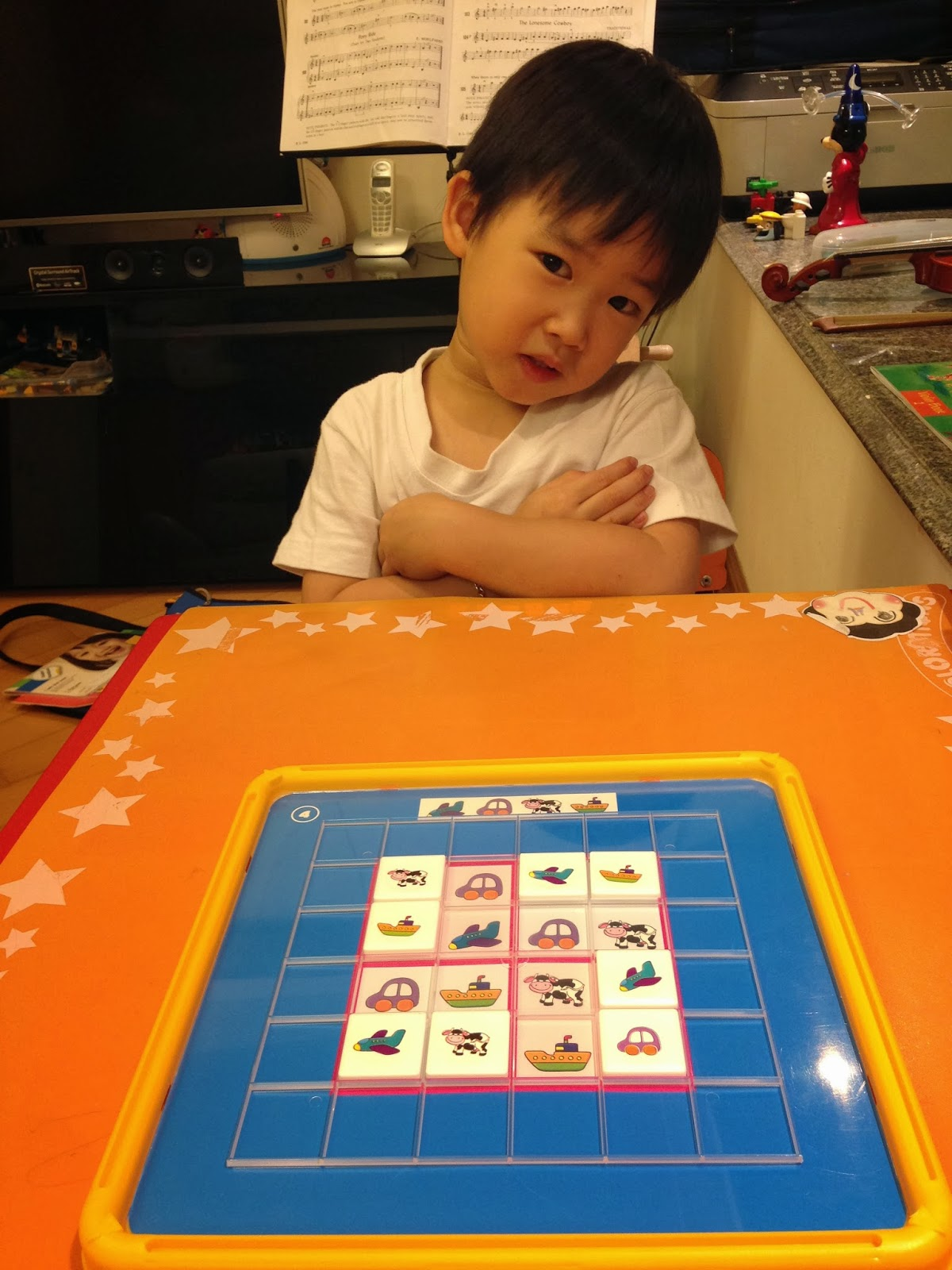 紅孩兒: 初試 Sudoku (4y2m)