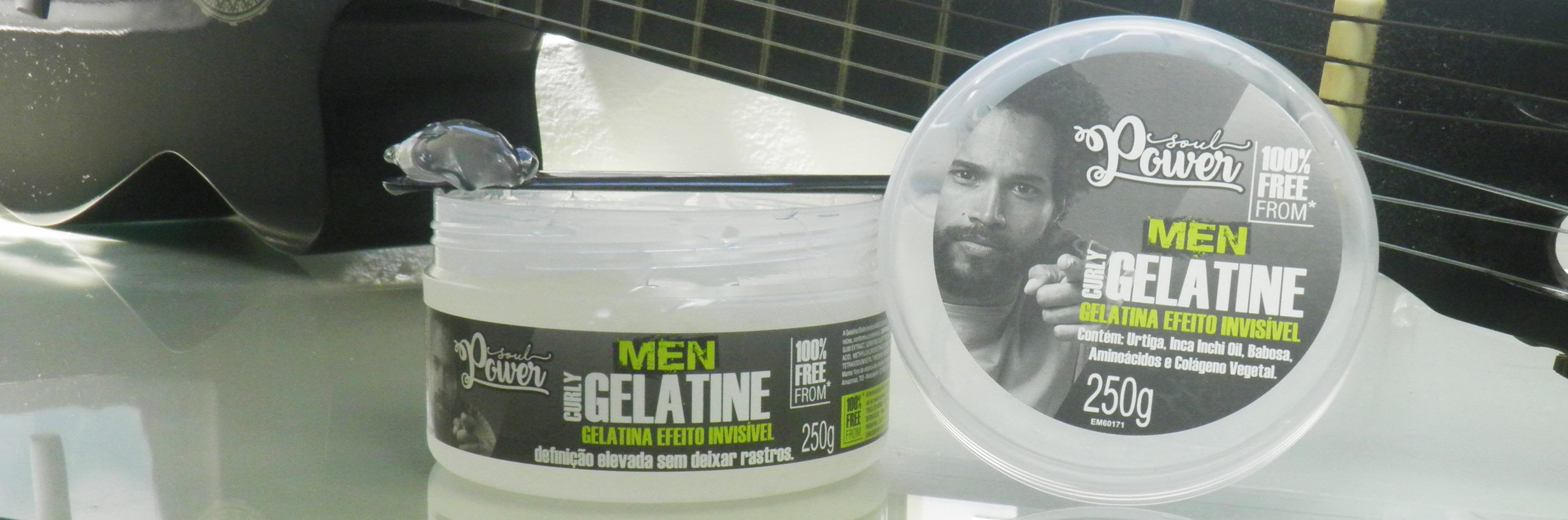 Onde encontrar para comprar Curly Gelatine - Soul Power Men (Resenha)