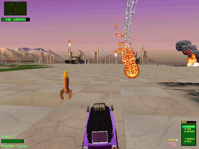 تحميل لعبة twisted metal 3 للكمبيوتر من ميديا فاير