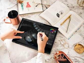 Mewujudkan Mimpi si Calon Desainer Grafis dengan Laptop ZenBook Flip S ( UX371)