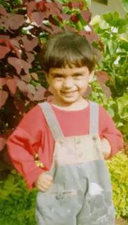 manushi chhillar childhood image