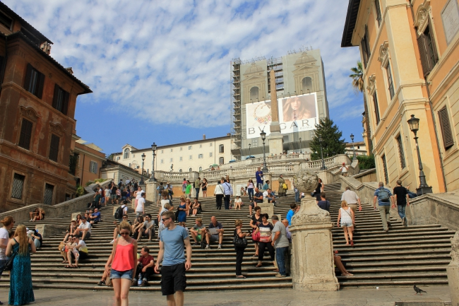 things to do in Rome; spanish steps