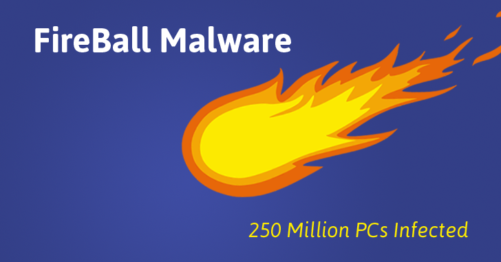 Beware! Fireball Malware Infects Nearly 250 Million Computers Worldwide