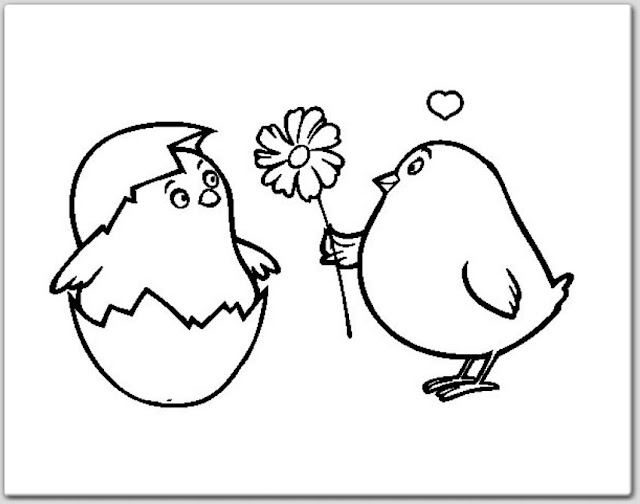 dibujos San Valentin para colorear